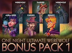 One Night Ultimate Werewolf Bonus Pack 1 - Top Shelf Gamer