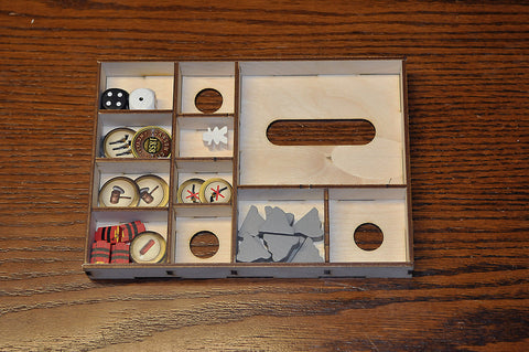Wooden Insert Compatible with Carson City