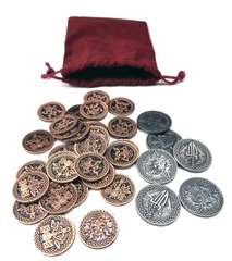 Coin Bundle Compatible with Champions of Midgard™ (set of 36)