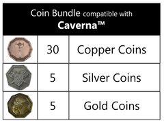 Coin Bundle Compatible with Caverna™ (set of 40)