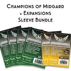 Card Sleeve Bundle: Champions of Midgard™, plus expansions
