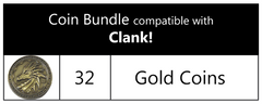 Coin Bundle Compatible with Clank!™ (set of 32)