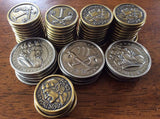 Roll Player™ Custom Metal Coin Set (set of 60)