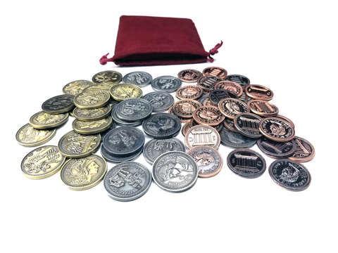 Coin Bundle Compatible with Concordia™ (set of 60)
