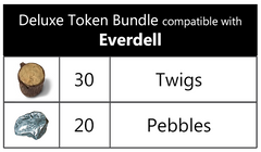 Deluxe Token Bundle compatible with Everdell™