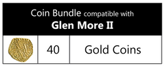 Coin Bundle Compatible with Glen More II™ (set of 40)