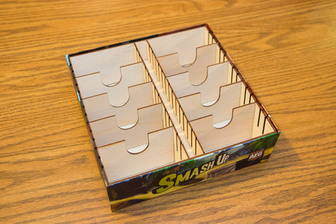 Smash Up Box Organizer with Wood Dividers