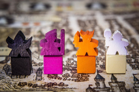 DnDeeples, Wooden - Lords of Waterdeep Meeples (set of 108)