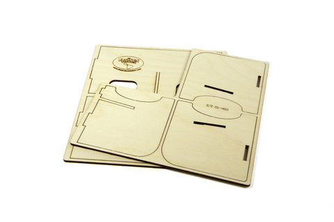 Card Holder: 2 Section Standard-Size Card Decks