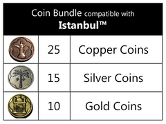 Coin Bundle Compatible with Istanbul™ (set of 50)