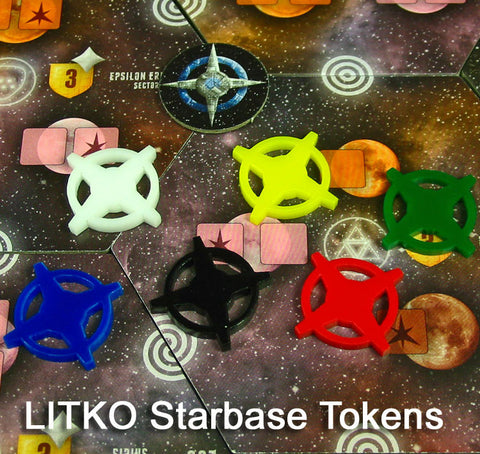 Star Base Game Token Set (set of 24)