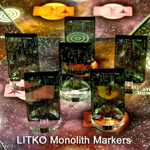 Monolith Markers (set of 5)