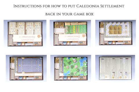 Insert compatible with 1st Ed. Clans of Caledonia™