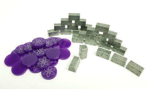 Deluxe Token Bundle Compatible with Manhattan Project: Energy Empire™