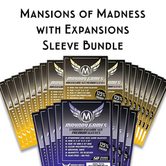 Card Sleeve Bundle: Mansions of Madness™, plus expansions