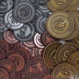 Custom Metal Lira Coins (set of 72)