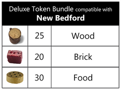 Deluxe Token Bundle compatible with New Bedford™ (set of 75)