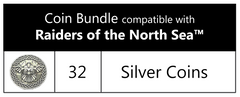 Coin bundle compatible with Raiders of the North Sea™ (set of 32)