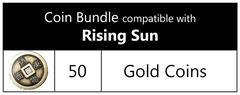 Coin Bundle Compatible with Rising Sun™ (set of 50)