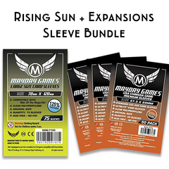 Card Sleeve Bundle: Rising Sun™ + Expansions