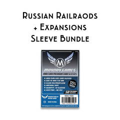 Card Sleeve Bundle: Russian Railroads™ plus Expansions
