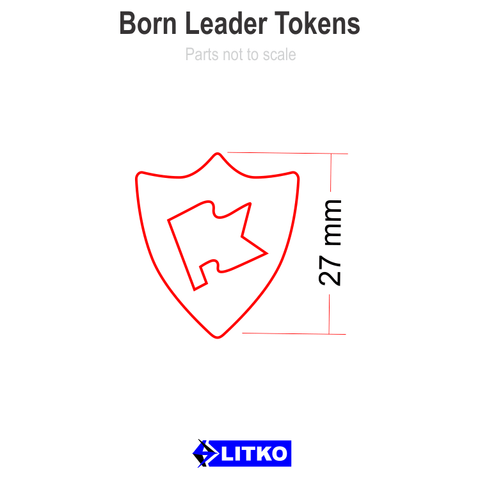 Born Leader Tokens (5)