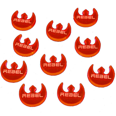 Rebel Faction Tokens, Fluorescent Pink (set of 10) [clearance]