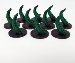 3D Printed Tentacle Tokens (set of 10)