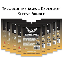 Card Sleeve Bundle: Through the Ages™ plus expansion
