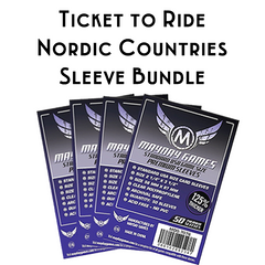 Card Sleeve Bundle: Ticket to Ride™, Nordic Countries