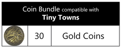 Coin Bundle Compatible with Tiny Towns: Fortune™ (set of 30)