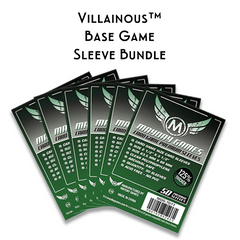 Card Sleeve Bundle: Villainous™ Base Game