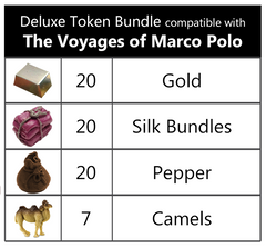 The Voyages of Marco Polo™ compatible Deluxe Token Bundle (set 67)