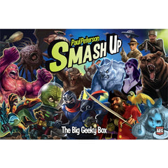 Smash Up: The Big Geeky Box - Top Shelf Gamer