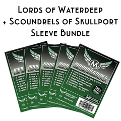 Card Sleeve Bundle: Lords of Waterdeep + Scoundrels of Skullport - Top Shelf Gamer