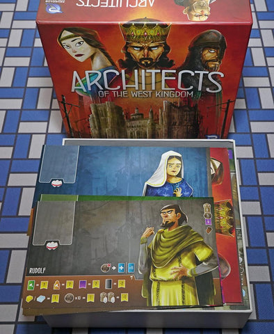 Architects of the West Kingdom™ Foamcore Insert (pre-assembled)