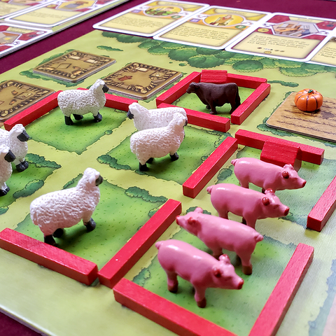 Agricola™ compatible Deluxe Animal Tokens (set of 50)