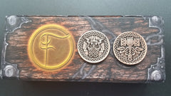 Valkyrie Copper Coins (set of 10) - Top Shelf Gamer