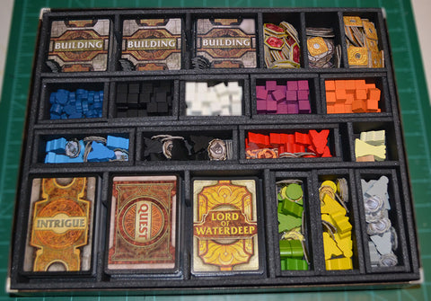 Lords of Waterdeep w/ Expansion Foamcore Insert (pre-assembled)