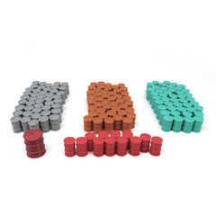 3D Printed Barrels compatible with Pipeline™ (set of 145)