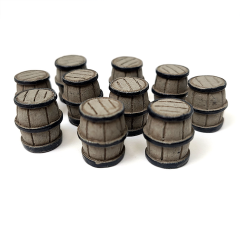Barrel Tokens (set of 10)