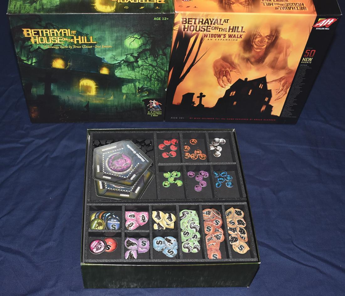 Top Shelf Gamer | Betrayal at the House™ on the Hill Foamcore Insert  (pre-assembled)