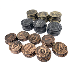 Brass™ compatible Metal Coin Bundle (set of 80)