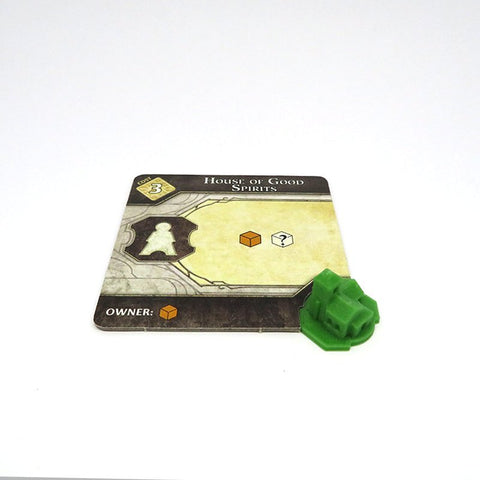 Building Tokens compatible with Lords of Waterdeep™ (set of 54)