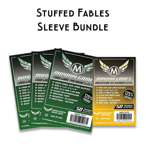 Card Sleeve Bundle: Stuffed Fables™