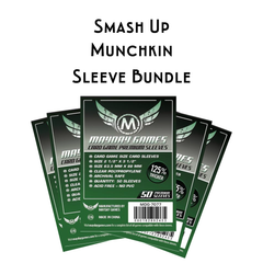 Card Sleeve Bundle: Smash Up™ - Munchkin