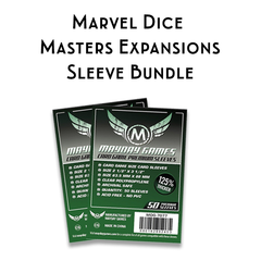 Card Sleeve Bundle: Marvel Dice Masters Expansion