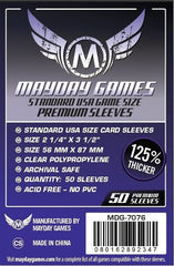 PREMIUM Mayday USA Card Sleeves: 56 x 87mm (set of 50)