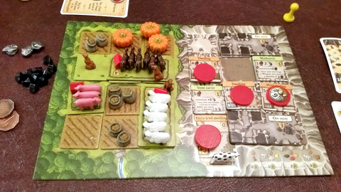Deluxe Animal Tokens compatible with Caverna