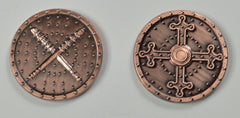 Barbarian Copper Coin (set of 10) - Top Shelf Gamer